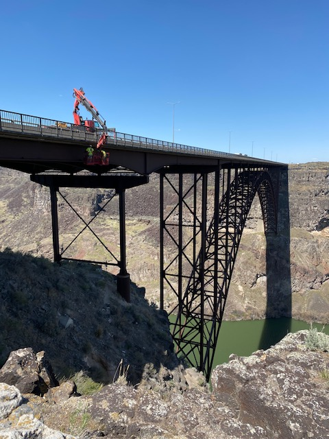 Perrine Bridge repair